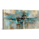 Online Designer Combined Living/Dining Gama Painting Print on Wrapped Canvas