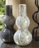 Online Designer Combined Living/Dining Global Views Two Bubble Vases