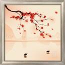 Online Designer Bedroom Oriental Style Painting, Plum Blossom in Spring