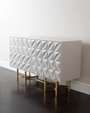 Online Designer Combined Living/Dining John-Richard Collection Barrington Console