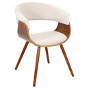 Online Designer Combined Living/Dining Vintage Mid-century Accent Chair
