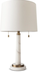 Online Designer Combined Living/Dining Franklin Table Lamp - Marble -Threshold™