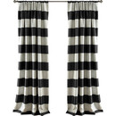 Online Designer Bedroom Stripe Curtain Panel by Lush Decor
