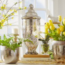 Online Designer Living Room Mercury Glass Decorative Jar