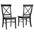 Online Designer Dining Room Black Sawyer Side Chair - Set of 2