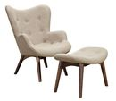 Online Designer Combined Living/Dining lounge chair + ottoman