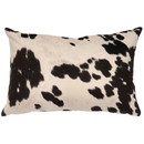 Online Designer Living Room Faux Hair on Hide Lumbar Pillow by Wooded