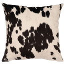 Online Designer Living Room Faux Hair on Hide Throw Pillow by Wooded River