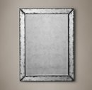 Online Designer Combined Living/Dining 18th C. Venetian Antiqued Glass Mirror