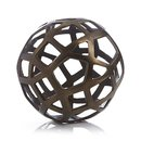 Online Designer Combined Living/Dining Geo Large Decorative Metal Ball