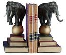 Online Designer Combined Living/Dining Elephant on A Ball Bookends