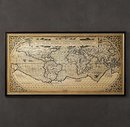 Online Designer Combined Living/Dining 1588 World Map