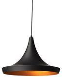 Online Designer Bedroom Nuevo Euclid Matte Black Large Pendant