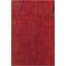 Online Designer Bedroom Cinzia Red Abstract Area Rug by Filament