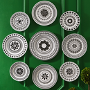 Online Designer Combined Living/Dining Constantine Wall Plates