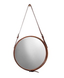 Online Designer Combined Living/Dining Mini Hanging Mirror, Leather