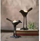 Online Designer Living Room Bird Glass / Iron tealight holders