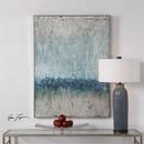 Online Designer Living Room Modern Blue Abstract Art