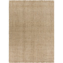 Online Designer Living Room Reeds Hand-Woven Cream/Tan Area Rug