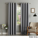 Online Designer Living Room Aurora Home Grommet Top Thermal Insulated 96-inch Blackout Curtain Panel Pair