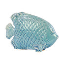 Online Designer Combined Living/Dining Engraved Hexagonal Scales Fish Figurine