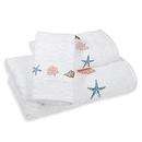 Online Designer Hallway/Entry India Ink™ Depoe Bay Bath Towel in Aqua