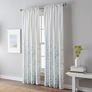 Online Designer Hallway/Entry Meadow 63-Inch Rod Pocket Window Curtain Panel in Mint