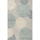 Online Designer Dining Room Zunheboto Hand-Tufted Light Gray Area Rug