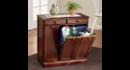 Online Designer Dining Room 3-Bin Cabinet (WALNUT)