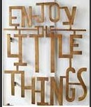 Online Designer Living Room Enjoy The Little Things Wall Art