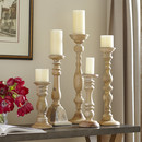 Online Designer Living Room 5-Piece Turned Candleholder Set