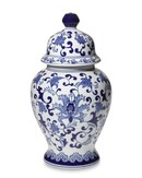 Online Designer Combined Living/Dining Porcelain Lidded Temple Jar