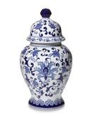 Online Designer Combined Living/Dining Porcelain Lidded Temple Jar