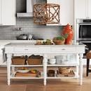 Online Designer Combined Living/Dining Crackle Vase, Lidded Urn, Orange