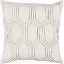 Online Designer Living Room Beige Geometric Design Pillow