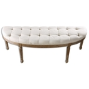 Online Designer Living Room Curved Upholstered Bench