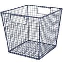 Online Designer Bedroom Down to the Wire Cube Bin - Blue