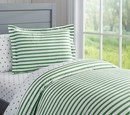 Online Designer Bedroom Organic Breton Stripe Duvet Set
