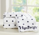 Online Designer Bedroom Organic Star Sheet Set