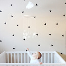 Online Designer Bedroom MINI TRIANGLES