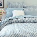 Online Designer Bedroom Organic Stamped Dots Duvet Cover