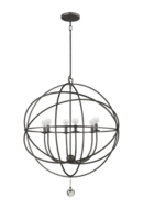 Online Designer Combined Living/Dining Gregoire 6-Light Globe Chandelier