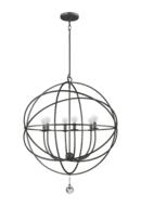 Online Designer Combined Living/Dining Gregoire 6-Light Globe Chandelier