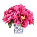 Online Designer Living Room Peonies Floral Arragement