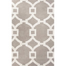 Online Designer Living Room City Light Gray & Ivory Geometric Area Rug by Jaipur Rugs