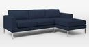 Online Designer Living Room Marco 2-Piece Chaise Sectional