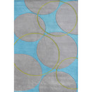Online Designer Dining Room Orenco Hand-Tufted Blue/Gray Area Rug by The Conestoga Trading Co.