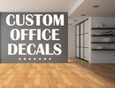 Online Designer Business/Office Custom Home Office Vinyl Wall Decals