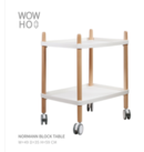 Online Designer Business/Office Normann Block table