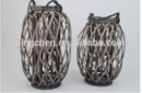 Online Designer Business/Office Indoor &ourdoor willow lantern